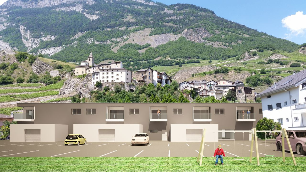 Appartements neufs 3.5 pces � Saillon, R�sidence L