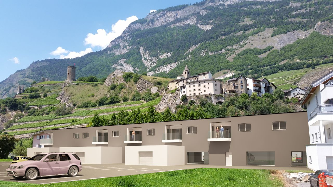 Appartements neufs 4.5 pces � Saillon, R�sidence L