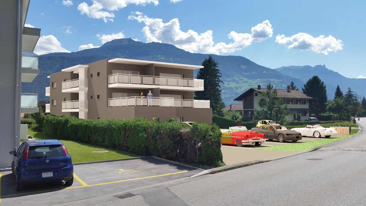 Appartements neufs 3.5 pces � V�troz, R�sidence LES LILAS